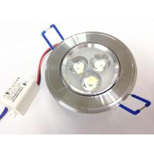3W CE & Rosh techo Downlight Epistar llevó la lámpara de techo Empotrado Luz 110V 220V 230V 240V Para la iluminación del hogar