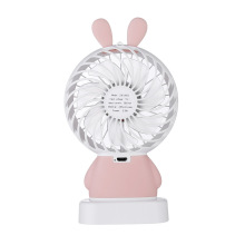 Tragbare Fan Mini wiederaufladbare Handheld LED USB Fan