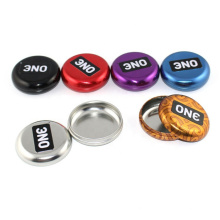 Promotional Round Small Tin Box for Food Packaging, custom tin boxes Customized Shape and Size from Factory