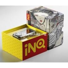 Caja electrónica de embalaje de papel de lujo