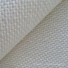 Tela de entretejido de cáñamo / lana en dos tonos (QF13-0141)