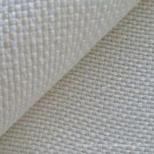 Tissu entrelacé de chanvre / laine en deux tons (QF13-0141)