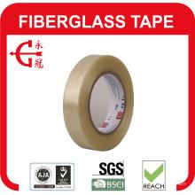 Cinta de fibra de vidrio adhesiva de goma transparente gruesa de 0.16 mm