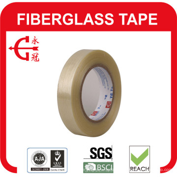 0.16mm Thick Clear Rubber Adhesive Fiberglass Tape