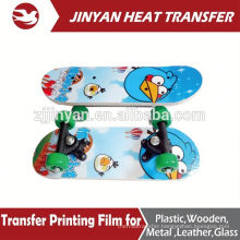 new design heat transfer film for skateboards