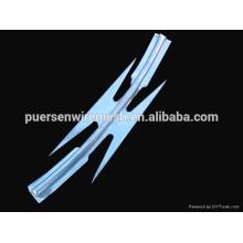 CBT-65 galvanized razor wire / razor wire fencing