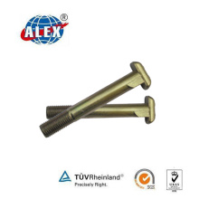 Zinc Plated Railway Anchoring Clip Bolt