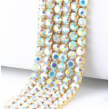 Strass Roll Diamond Cup Chain AB Stone