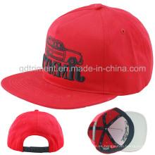 Gorra de béisbol plana de encargo del ocio del bordado del Snapback de Bill de la promoción (TMFL6499-1)