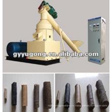 Компрессионная машина для брикетирования опилок биомассы