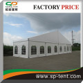 cheap large wedding party tent with aluminum glass door 25x50m for party and banquet