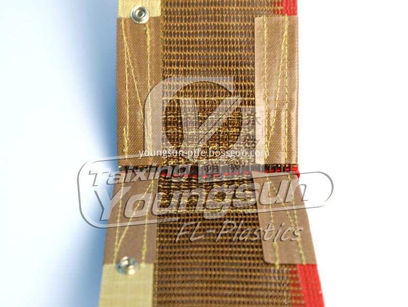 Teflone mesh belt