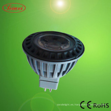 Proyector de LED de 3W MR16 (COB 1 * 3W)