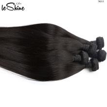 Venda al por mayor ninguna extensión brasileña pura sin procesar del pelo del enrejado sin la extensión