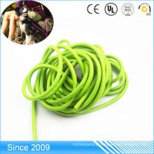 Corda redonda revestida impermeável do PVC Poylester para a trela do cão
