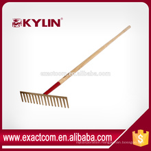 forged stone heavy-duty rake