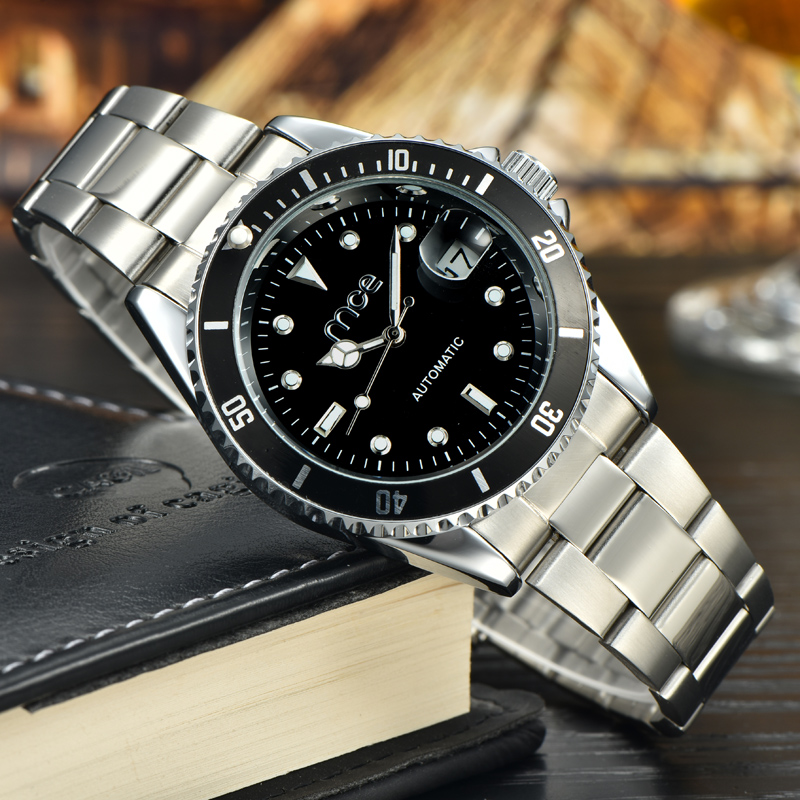 Famous stainless steel brand watch for men