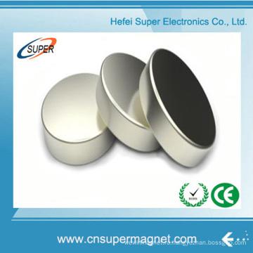 N38 Сильный постоянный диск никель спеченная неодимовый магнит