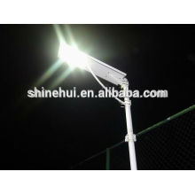 green saving all in one led solar street light with good quality battery