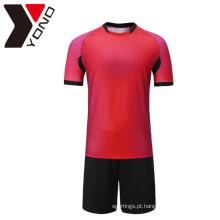 Logotipo personalizado barato camisa de futebol Jersey futebol camisa criador