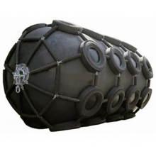 Garde-boue en caoutchouc pneumatique/gonflable marin pour la protection des navires et des quais