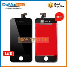 Ganz neu, LCD-Glas, LCD-Display Anzeige mit Rahmen für das Iphone 4 s
