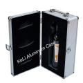 Caja de herramientas de maquillaje de aluminio (TOOL-010)