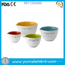 Color Inside Kitchen Measuring Cup Set