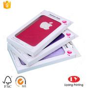Cheap phone case box with PVC tray