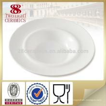 Venta al por mayor varios diseño nuevo hueso China profunda sopa plato pasta placa