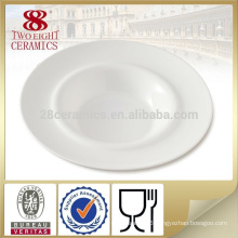 wholesale various design new bone China deep soup platter pasta plate