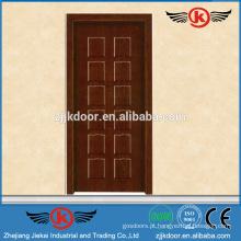 JK-MW9005B porta de melamina moderna porta portas de madeira à prova de explosão