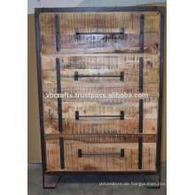 Industrial Urban Loft Schubladenschrank