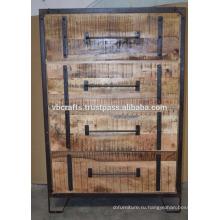 Промышленные Городском Лофте Ящик Шкафа