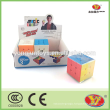Hot sale stickerless magic square cube other educational toys type magic cubes
