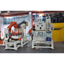 Metal Uncoiler Machine Use in Manufacturing Industry