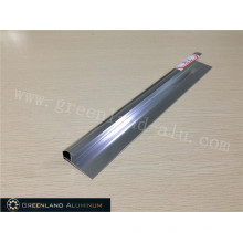 Aluminium Radius Tile Trim in Anodised Silver Bright Color