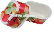 IML disposable small plastic containers wholesale