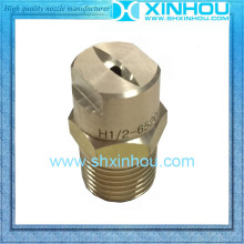 Cleaning equipment parts flat fan nozzle