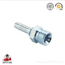 Mâle métrique pour raccords de tuyau à cône de 60 degrés