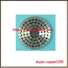 ACSR/AW conductor aluminum conductor aluminum clad steel reinforced
