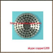 ACSR/AW conductor aluminum conductor aluminum clad steel reinforced
