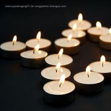 hochwertige echte Wachs einfarbige Teelicht Kerzen