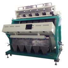 Máquina de clasificación de color de granos de café / Clasificador óptico de lentejas / CCD Clasificador de colores de habas moteadas