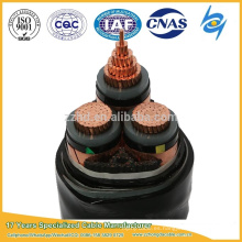 (8.7 / 15kV) 10kv 185 sq mm 3 núcleo Cable de acero Rusia blindado Cable