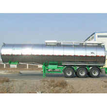 3 Axles 40cbm Bulk Cement Tank Semi-trailer