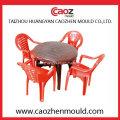 Molde plástico vendendo quente da cadeira com três parte traseira Insert