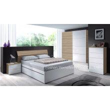 Conjunto de móveis de quarto de luxo de 5 peças (HF-EY017)