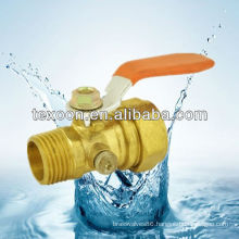 143-MCP Regular Port Brass Mini Ball Valve, Aluminum Composite Pipeline