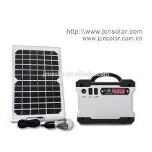 DC solar lighting solar power kit solar battery for home use